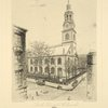 North Dutch Church, erected 1769. Demolished 1875