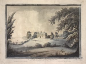 Mount Vernon in Virginia. The seat of the late Lieut. General George Washington commander in chief of the Armies of the United States / Alexander Robertson delineavit ; Francis Jukes sculpsit ; London Pubd. March 31st 1800 by F. Jukes No. 10 Howland Street ; and by Al. Robertson Columbian Academy Liberty Street New York.