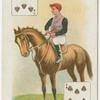 Jockey: J.H. Martin, colours: Sir John Kelk.