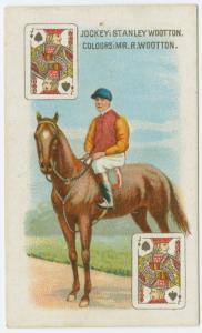Jockey: Stanley Wooton, colours: Mr. R. Wootton.