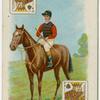Jockey: H. Jones, colours: His Majesty's.
