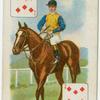 Jockey: Walter Griggs, colours: Major E. Loder.
