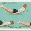 Exercises for women: body rocking.