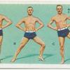 Exercises for men: falling astride.