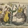 "Resolv'd on proclaiming a submarine feast."" (Frontispiece)"