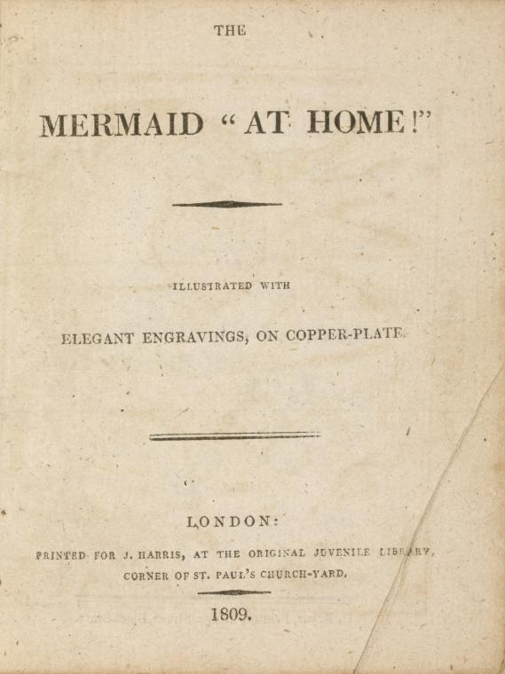 "The Mermaid ""at home!"" illustrated ... [Title page]"