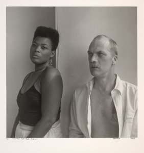 Veneita Porter and John Preston. Boston, MA.