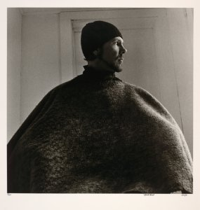Self portrait (after Nadar's George Sand).
