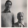 Charles Henri Ford with Indra. The Dakota, NYC.