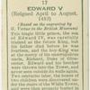 Edward V.