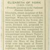 Elizabeth of York.