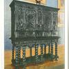 Flemish cabinet of carved ebony.
