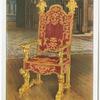 Venetian state arm chair.