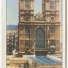 Westminster Abbey Showing Coronation Annexe.