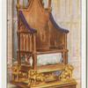 The Coronation Chair, Westminster Abbey.