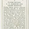Flying Officer A. E. Clouston and Victor Ricketts.