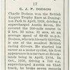 C. J. P. Dodson.