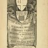 Etchings of remarkable beggars, itinerant traders and other persons of notoriety in London and its environs [Title page]