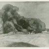 Art Exhibits - American Art Today - Works of Art - Briscoe's Barn (John E. Thompson)