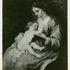 Art Exhibits - Masterpieces of Art Exhibit - Madonna and Child (Van Dyck)