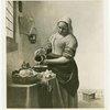 Art Exhibits - Masterpieces of Art Exhibit - The Milkmaid (Vermeer)