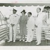 Australia Participation - Fiorello LaGuardia, L.R. MacGregor (Commissioner) and others on Australia Day