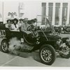 Automobiles - Ye Goode Olde Days - Car with man and four women