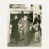 Bakelite Plastics Exhibit - Two men and two women at aviation display
