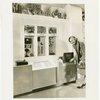 Bakelite Plastics Exhibit - Woman at radio display