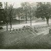 Bands - Bremen, Indiana High School in cross formation