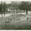 Bands - Bremen, Indiana High School in arrow formation