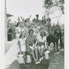 Borden - Women on back of horse cart