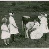 Borden - Cows - Milking - Girls milking cow
