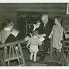 Borden - Jeffers, Henry (Inventor of Rotolactor, President of Walker-Gordon) - Reading to grandchildren