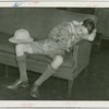 Boy Scouts - Boy in sleeping in building