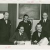Brazil Participation - Raphael Correa de Oliveira, Grover Whalen and group signing contract