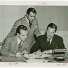 Brazil Participation - Francisco Silva Jr. (Commissioner General), Milton Trindade and Grover Whalen signing contract