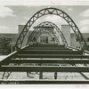 Bridges - Bridge of Tomorrow looking toward Administration Building entrance