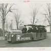 Buses - Greyhound Lines - Tractor Trains - Grover Whalen driving