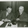 Chicago Mayor (Edward J. Kelly) and Harvey Gibson