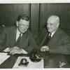Chicago Mayor (Edward J. Kelly) and Harvey Gibson