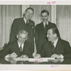 Cherry-Burell Corp. and Grover Whalen signing contract