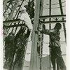 Carrier Corp. - Eskimos - Working on steel framework, close-up