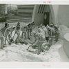 Carrier Corp. - Igloo - Exterior - Snow Girls shovel snow