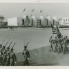 Ceremonies - Parade of troops from Camp George Washington