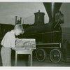 Children - Art Classes - Boy paints train