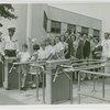 Children - School Visits - In line at turrnstile