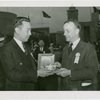 China Participation - Chinese Consul General presents rice bowl to Theodore Roosevelt