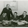 China Participation - Contract signing with Edward Roosevelt, Julius Holmes and members of the American Bureau for Medical Aid to China