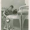 Chrysler Corp. - Woman with car